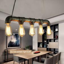 Rohr Hängelampe Industrial Barlampe Hängeleuchte Rohrlampe Wasserrohr Lampe E27