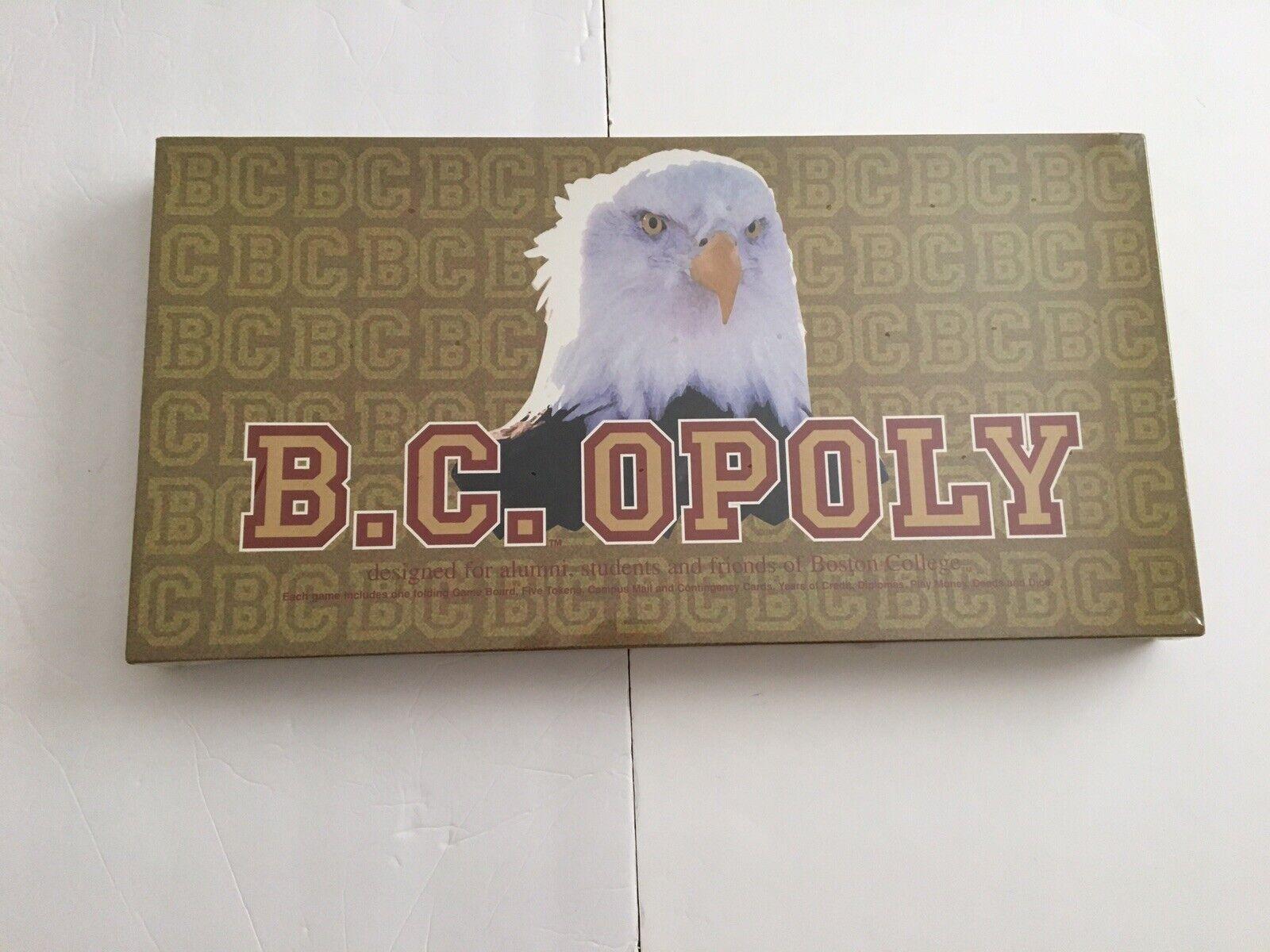 B.C.OPOLY tavola gioco Boston College  Monopoly Sealed  Miglior prezzo