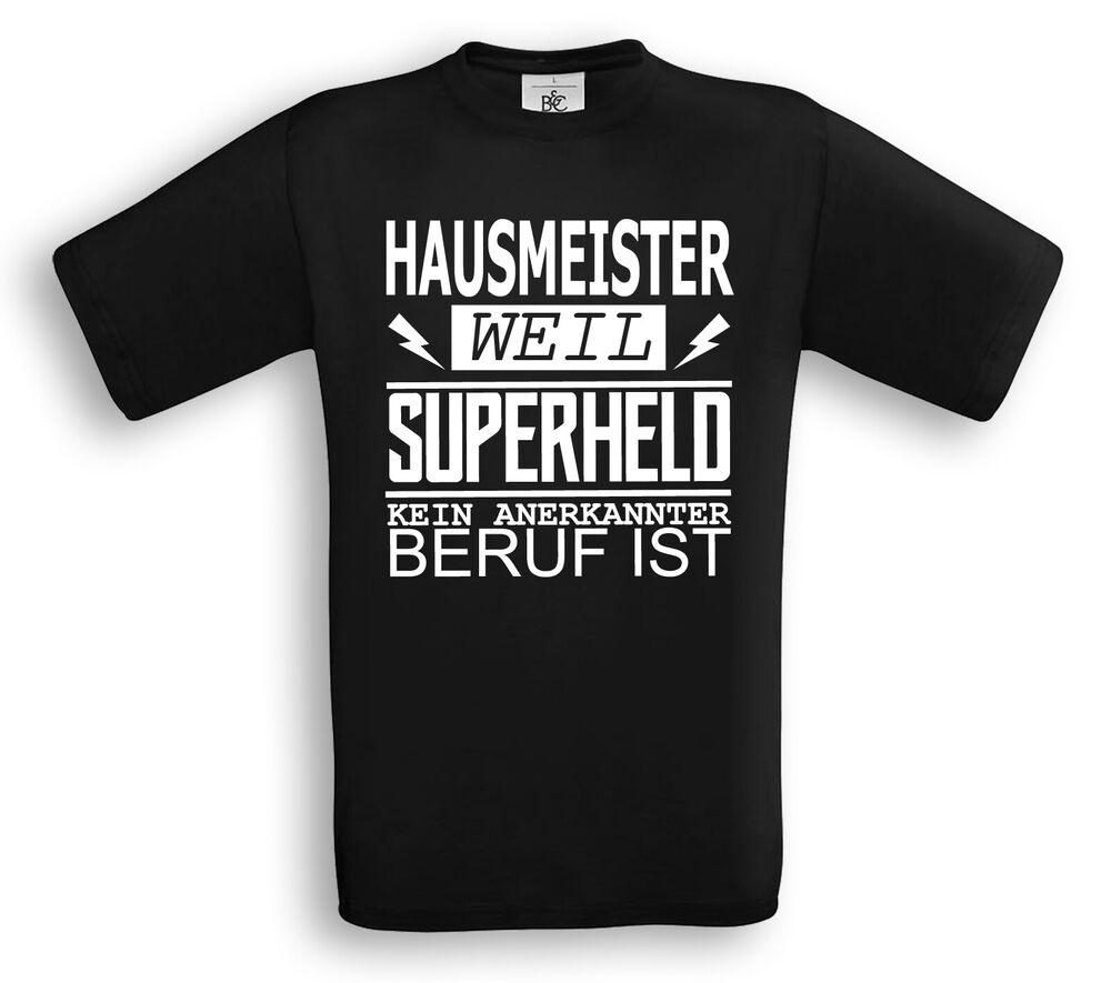 Concierge Parce Que Super-héros Aucun Métier Est T-shirt Job Travail Proverbes Artisanat