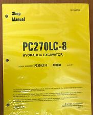 Komatsu PC270LC-8 Service Repair Printed Manual Shop