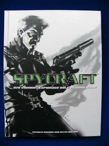 Spycraft - D20 Espionage RPG - AEG1800 - VG+
