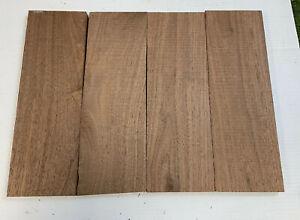 """Beautiful Black WALNUT Lumber Wood  Air Dried  24/"""" x 3/"""" x 1//4/"""" 3 PACK SET"""