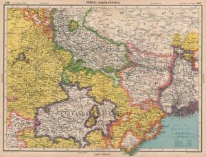 India North East Nepal Bihar Bengal Central Provinces Bartholomew