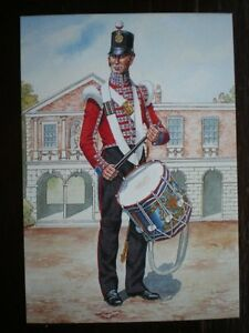 POSTCARD-DRUMMER-THE-97TH-EARL-OF-ULSTERS-REGIMENT-OF-FOOT-1854