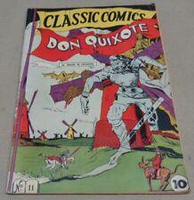 Vintage May 1943 DON QUIXOTE #11 Classics Illustrated Comic Book