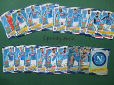 Topps Champions League 2016 17 all alle 18 Napoli Neapel Cards Logo Goal King