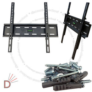 TV-Wall-Mount-Bracket-for-Screen-LCD-Plasma-Flat-TV-32-034-38-40-46-50-52-55-034-inch