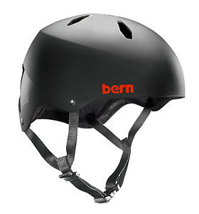Bern-Diablo-EPS-Fahrradhelm-Skate-BMX-Helm-Boys-Jugendhelm-55-5-57cm-Black
