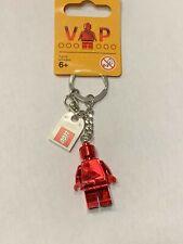 2017 version Genuine LEGO RED CHROME VIP KEYCHAIN 6195777
