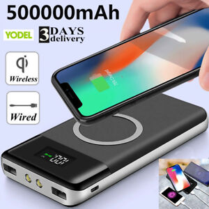 500000mAh-Power-Bank-Dual-USB-Qi-Wireless-Battery-Charger-with-LCD-Display-amp-LED