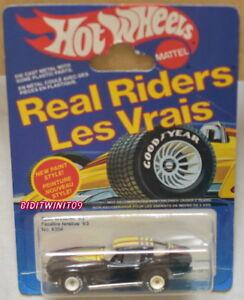 Hot Wheels 1983 Séparé Fenêtre '63 #4354 Vrai Riders W/blanc Moyeux