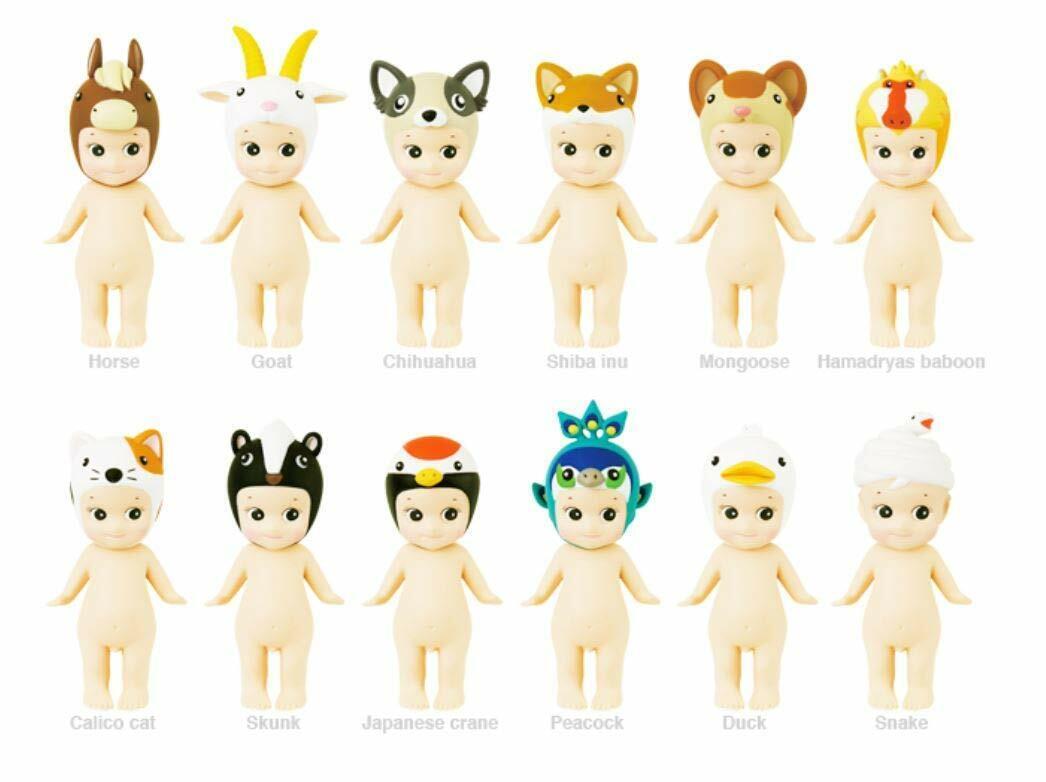 Sonny Ángel Estilo Japonés Mini Figura Animal Juguete de la versión 4 de la serie Set 2018