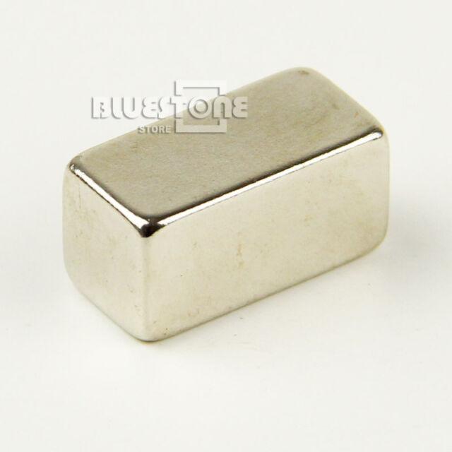 1 pc Big Super Strong Block NdFeb Magnets Rare Earth Neodymium 20 x 10 x 10 mm