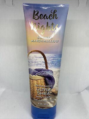 Beach Nights Bath Body Works Lotion 8 Oz Vitamin E For Sale Online Ebay