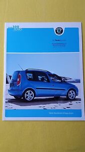 Skoda Roomster TDI S SE Scout paper brochure sales catalogue October 2009 MINT - <span itemprop='availableAtOrFrom'>Brotton, North Yorkshire, United Kingdom</span> - Skoda Roomster TDI S SE Scout paper brochure sales catalogue October 2009 MINT - Brotton, North Yorkshire, United Kingdom