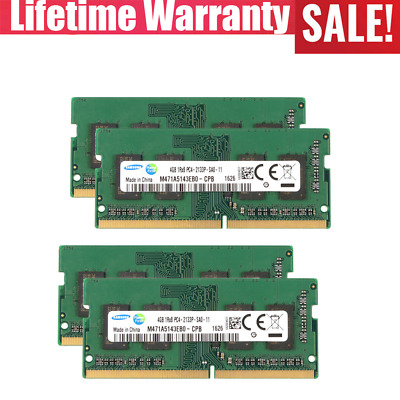Samsung 4GB PC4-2133P DDR4-17000 Laptop Memory Ram