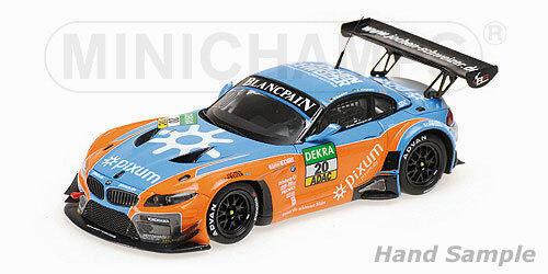 MINICHAMPS - BMW Z4 GT3 - PIXUM TEAM SCHUBERT  MUELLER ADAC GT MASTER 2014  1 43