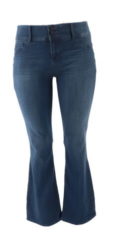 Laurie Felt Curve Silky Denim Boot-Cut Jeans Medium P2X NEW A346629