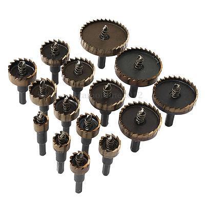 16 a 60mm HSS Drill Bit Broca Fresa Taladro Agujero Sierra Cortador Metal Madera