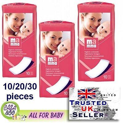 10, 20or 30pcs Pastiglie Maternità 11x34cm Post-partum Igiene Bella Altamente Assorbente-