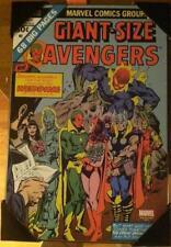 "Marvel comics Giant Size Avengers # 4 Wedding wooden wall art 19"" x 13"" new"