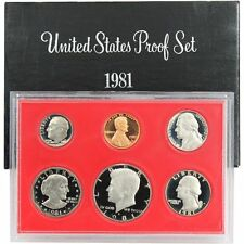 1981 S US Mint Proof Coin Set