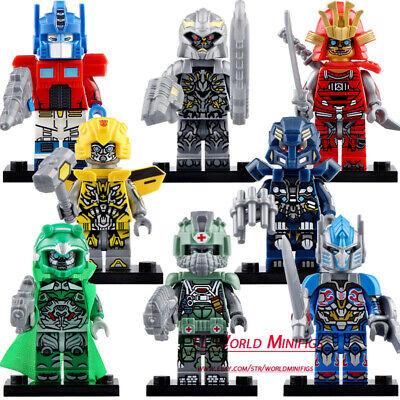 Transforme Optimus Prime Robot Movie Lego Moc Minifigure Toys Gift