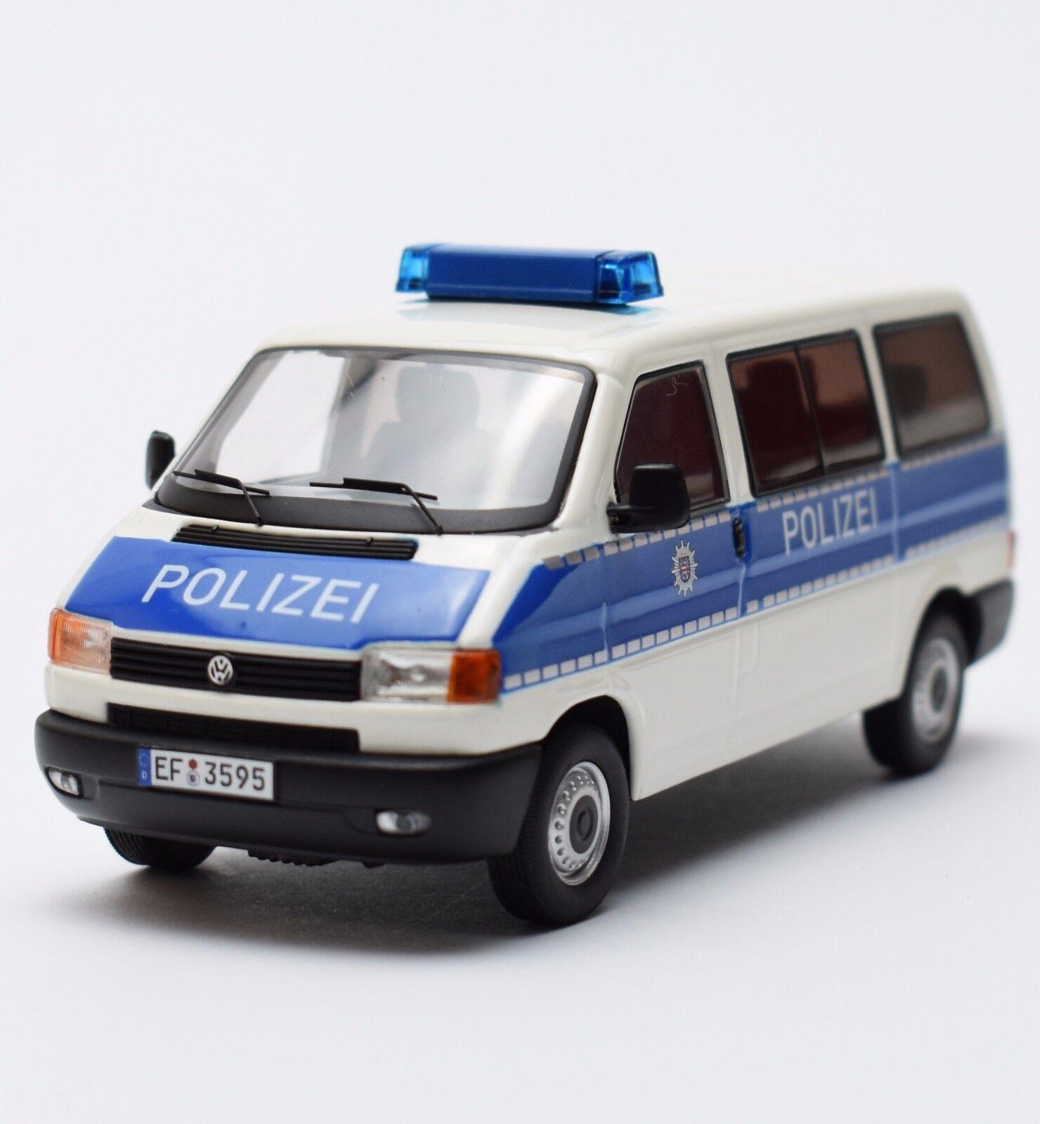 Premium ClassiXXs VW volkswagen t4 camionnette  police Thuringe , 1 43, NEUF dans sa boîte, b306