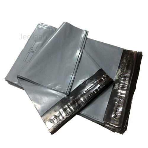 30 fuerte Gris correo y embalaje bolsas de plástico 3 Tamaño Mezclado 6x9 9x12 10x14 S