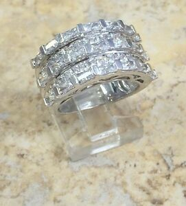 VICTORIA-WIECK-ABSOLUTE-BAND-STERLING-SILVER-RING-SIZE-5-HSN-SOLD-OUT