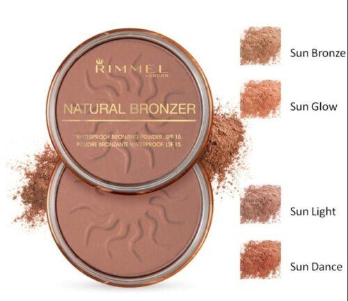 1 of 1 - RIMMEL Natural Bronzer SUN BRONZE 022 NEW waterproof bronzing powder