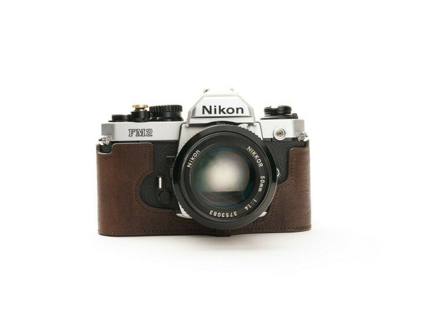 TP original Camera half Case For Nikon FM2
