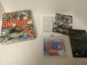 SIM Theme Park PC Video Game 1999 BIG BOX VERSION WINDOWS 95/98