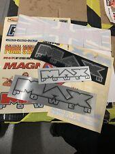 MAX POWER  Original Sticker Sheet Circa 2003 rare