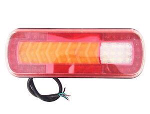 1x Anhänger Rückleuchte LED Rücklicht Trailer 14 LED Beleuchtung Hochwertig LKW