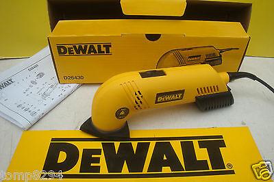 25 MIXED SANDING SHEETS BRAND NEW DEWALT D26430 DETAIL DELTA SANDER 240V