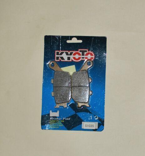 Kyoto Semi-Sintered Rear Brake Pads Honda CBR600RR 04-06 VTR1000 Firestorm 97-06