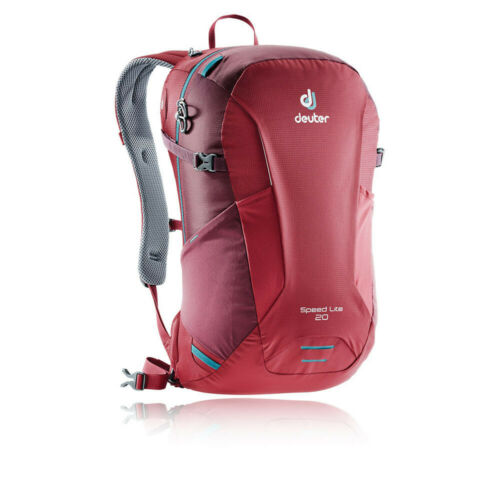 Deuter Unisex Speed Lite 20 Backpack Red Sports Outdoors Breathable Reflective