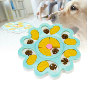 Dog-Puzzle-Toys-Puppy-Treat-Dispenser-Non-Slip-Increase-IQ-Training-Game-Lot