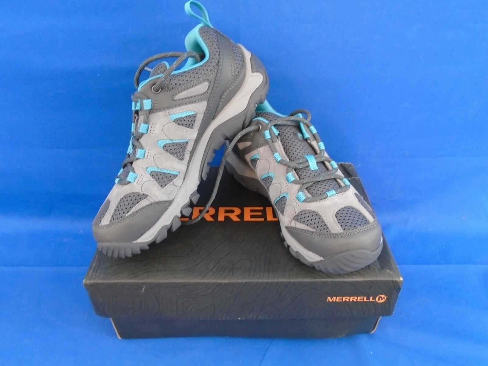 Merrell Women's Outmost Vent Hiking Shoe Frost Grey 6 M US