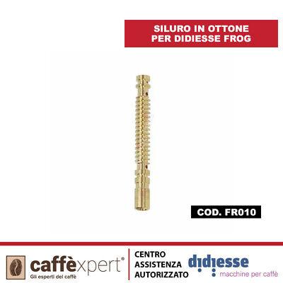 FR010 RICAMBIO SILURO IN OTTONE PER DIDIESSE FROG COD