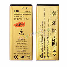 New 3.8V 2680mAh Gold Replacement Li-ion Phone Battery For Blackberry Z10 LS1