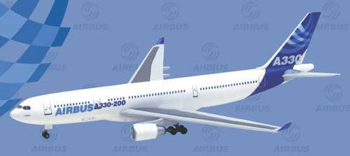 DRAGON 55796 AIRBUS INDUSTRIES A330-200 LIVERY 2005 1//400 DIECAST PLANE NEW