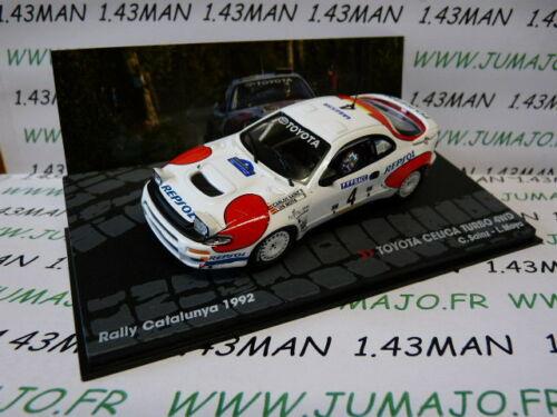 RIT17M voiture 1//43 IXO Altaya Rallye TOYOTA CELICA TURBO 4WD 1992 C.Sainz