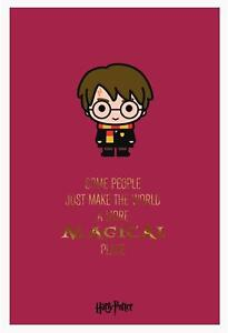 Image Is Loading HARRY POTTER BIRTHDAY CARD MAKE THE WORLD A