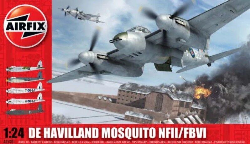 Airfix 1 24 De-Haviland Mosquito NFII FBVI