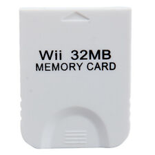32MB Memory Card for Nintendo GameCube Game Wii Console System Storage USA