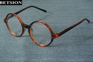 6d7edde6bebd Vintage Round Tortoise Reading Glasses Full Rim +0.5 +100 +125 +150 ...