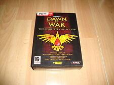 WARHAMMER 40,000 DAWN OF WAR THE COMPLETE COLLECTION PARA PC NUEVO A ESTRENAR