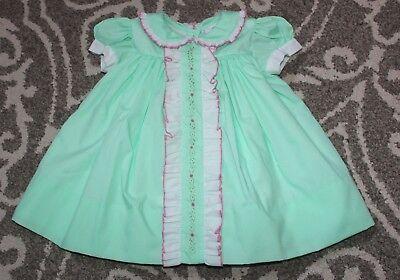 NWT The Proper Peony Classic Pink Pleat Dress 3T